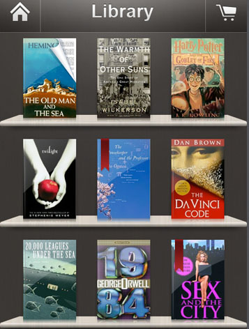 kindle book library